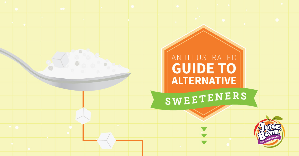 An Illustrated Guide to Alternative Sweeteners