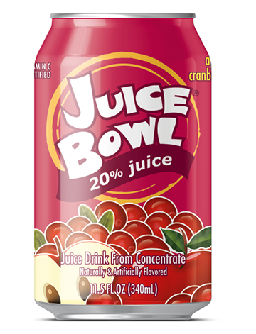 Juice Bowl Apple Cranberry