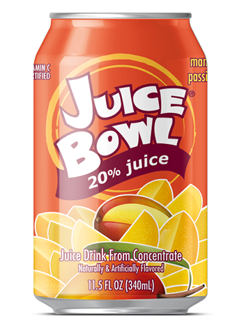Juice Bowl Mango Passion