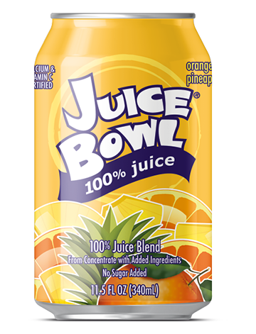Juice Bowl Orange Pineapple