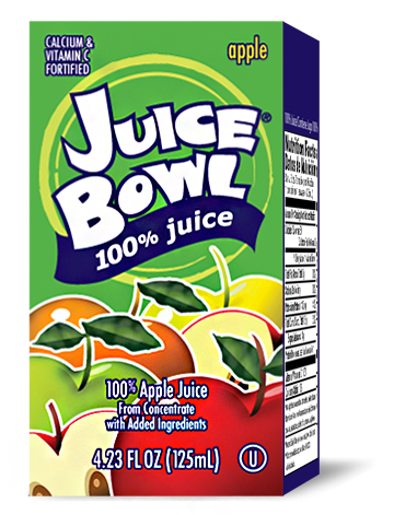 Juice Bowl Apple Juice
