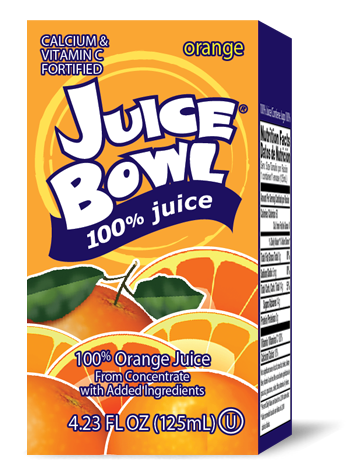 Juice Bowl Orange Juice