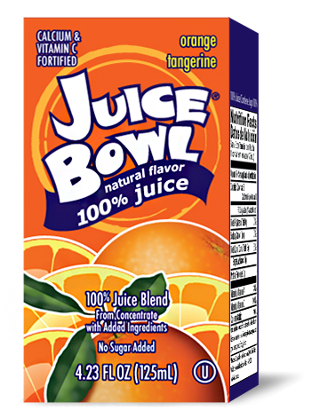 Juice Bowl Orange Tangerine