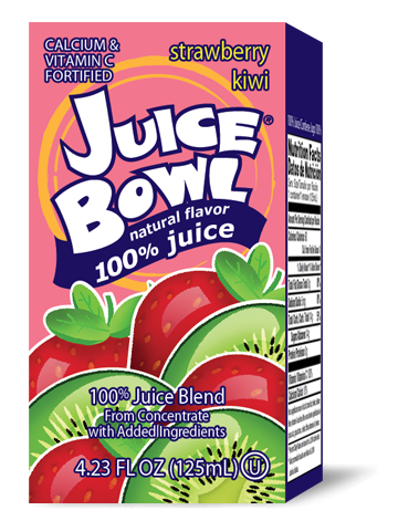 Juice Bowl Strawberry Kiwi