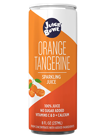 Juice Bowl Orange Tangerine Sparkling Juice